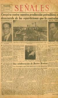 image of Señales. Le Habla al Pueblo en Su Proprio Idioma. Year I, No. 1 (27 Feb 1935) through Year IV, No. 162 (29 April 1938) (all published)