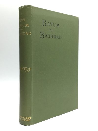 Edinburgh and London: William Blackwood, 1896. First Edition. Hardcover. Very good. The author was t...