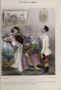 Nos Gentils Hommes a Gout by CHAM (pseudonym of Amédée de Noé) - First Edition - from David Brass Rare Books, Inc. and Biblio.com