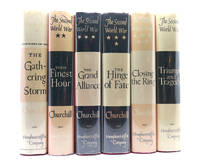 image of THE SECOND WORLD WAR: TRIUMPH AND TRAGEDY IN SIX VOLUMES The Gathering  Storm; Their Finest Hour; the Grand Alliance; the Hinge of Fate; Closing  the Ring; Triumph and Tragedy