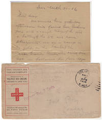 CHASING PANCHO VILLA - RARE ARCHIVE OF AN OFFICER'S AIRMAIL CORRESPONDENCE FROM THE MEXICAN PUNATIVE EXPEDITION