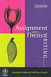 Assignment & Thesis Writing by Jonathan Anderson