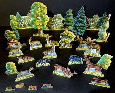 Der Wildpark. The Zoological Garden.