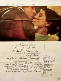 Art of Love [L'art d'aimer] (Original French poster from the 1983 film)