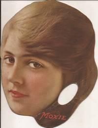 "image of Moxie Hand-held Fan w/ Music Score: ""Just Like Washington Crossed the Delaware, General Pershing Will Cross the Rhine."