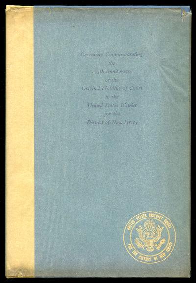 Trenton, 1964. Hardcover. Fine/Near Fine. First edition. Fine in a near fine tissue paper dustwrappe...