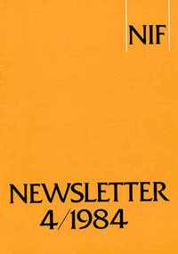 NIF Newsletter 4 (Vol 12, 1984) by  Lauri Honko - Paperback - 1984 - from Diatrope Books and Biblio.com