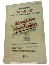 The R.A.C. County Road Map & Gazetteer: Warwickshire and Worcestershire, The Shakespeare...