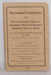 International Constitution ... As amended by Thirtieth General Convention, Cincinnati, O., April 21 to 26, 1941