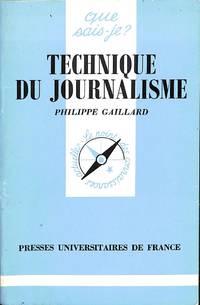 Technique Du Journalisme.
