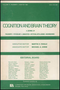 Cognition and Brain Theory (Vol 4, No. 1, Winter 1981)