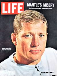 Life. July 30, 1965. Mickey Mantle Cover