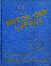image of Motor Car Supply Catalogue: 1950