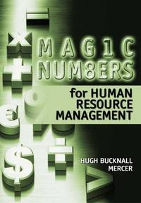 Magic Numbers for Human Resource Management: Basic Measures to Achieve Better Results by  Zheng Wei - Paperback - from World of Books Ltd (SKU: GOR008335986)