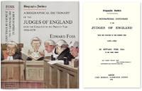 Biographia Juridica. A Biographical Dictionary... Judges of England..