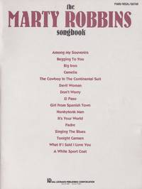 Marty Robbins Songbook by  Marty Robbins - Paperback - from Chisholm Trail Bookstore (SKU: 19180)