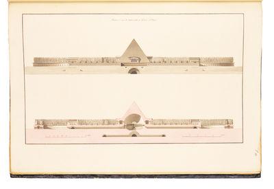1803. . Recueil des grands prix d'architecture, et autres productions de cet art, couronnées en Fra...