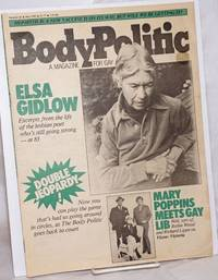 image of The Body Politic: a magazine for gay liberation; #83, May, 1982: Elsa Gidlow