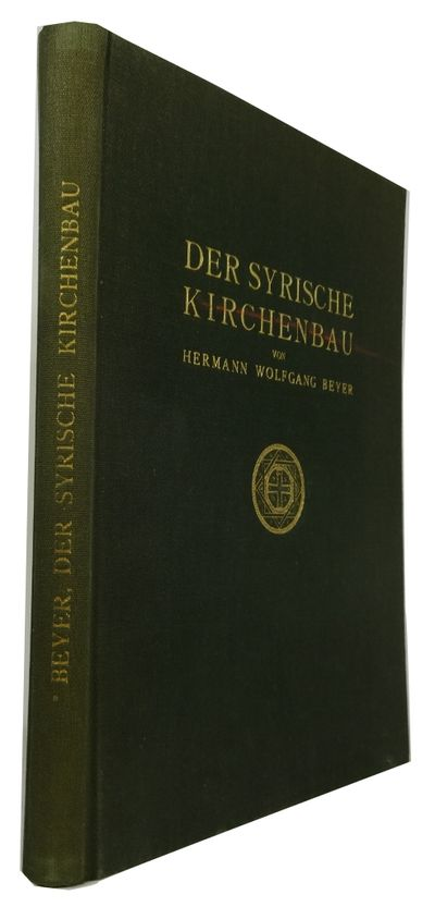Berlin: Walter de Gruyter, 1925. Hardcover. Very Good. illustrations, plans, indexes, viii, 183p. pl...