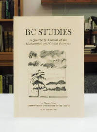 image of BC Studies Special Issue Anthropology and History in the Courts, No. 95 Autumn 1992