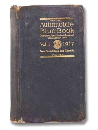 The Automobile Blue Book Publishing Co, 1917. First Edition. Full-Leather. Good/No Jacket. First edi...