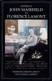 image of Letters of John Masefield to Florence Lamont