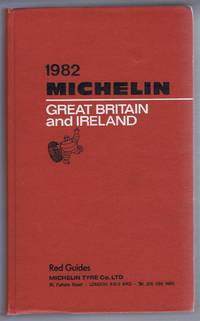 1982 Michelin Great Britain and Ireland, Red Guide