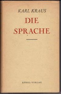 Die Sprache (Zweiter Band Der Werke Von Karl Kraus)