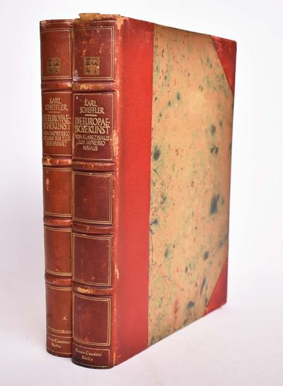 Berlin: Bruno Cassirer Verlag, 1927. Hardcover. G+. General wear and rubbing to covers, especially t...