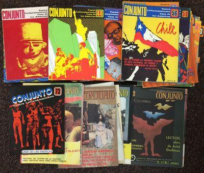 Havana, Cuba: Casa de las Americas, 1990. Magazine. 29 issues of the quarterly magazine, various pag...
