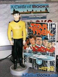 "Star Trek 12"" Lt. Sulu statue plus Signed Comic #1 ST: TOS Limited Edition 53/2500 George Takei Star Trek: The Original Series"