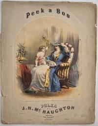 Peek-A-Boo! Polka; Cover title: To Miss Mary Christie of Caledonia, N.Y., Peek-a-Boo Polka