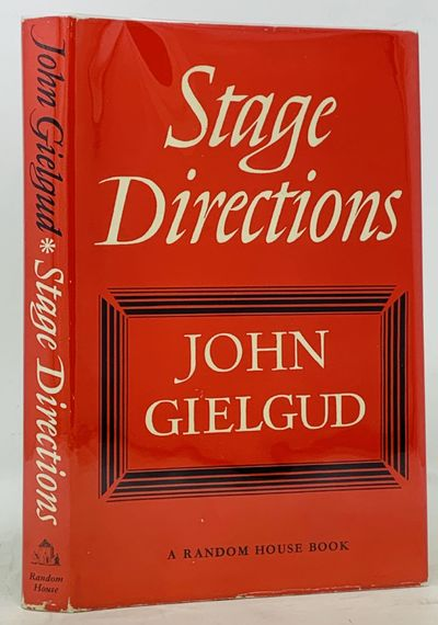 New York: Random House, 1963. 1st edition. Red cloth binding. Red dust jacket. Nr Fine/VG+. xiv, 146...