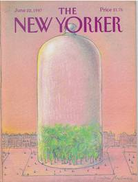 image of NEW YORKER: COVER TREES UNDER GLASS by EUGENE MIHAESCO