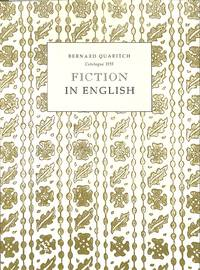 Catalogue 1193/n.d.: Fiction in English.
