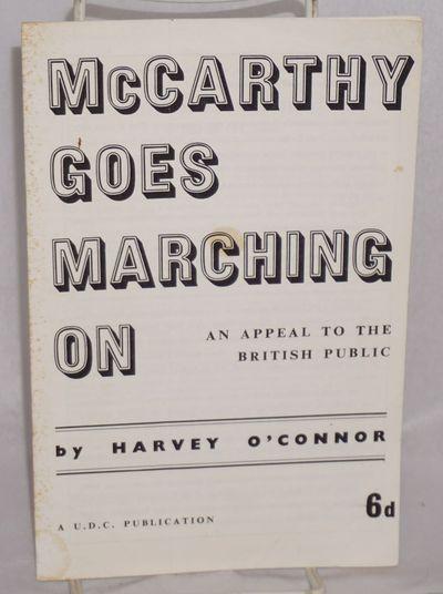London: Union of Democratic Control, 1959. 11p., wraps a bit foxed.