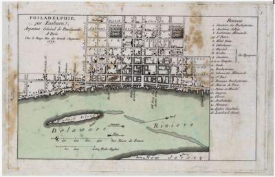 Philadelphie, par Easburn, Arpenteur...