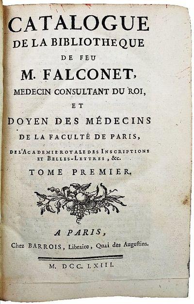 Catalogue de la Bibliotheque de feu...