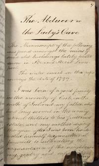 [ Manuscript notebook recording folktales, legends, and axioms.]