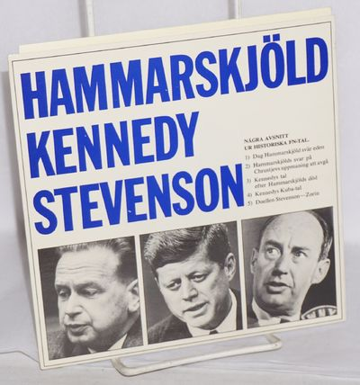 Stockholm: Idun-vecko journalen, n.d.. 33 1/3 rpm flexible sound disc, very good in illustrated slee...