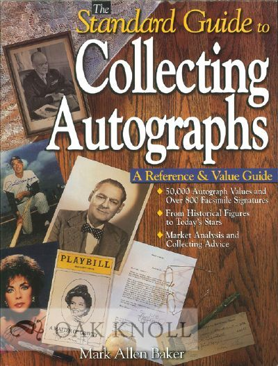 (Iola, WI: Krause Publications, 1999. stiff paper wrappers. Autographs. 4to. stiff paper wrappers. 6...