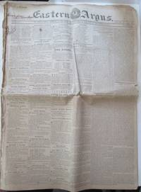 Eastern Argus. Bound Volume. 9 Weekly Issues. September 16-November 11, 1823
