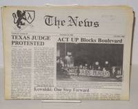 image of The News: vol. 3, #20, December 23, 1988; ACT UP Blocks Boulevard