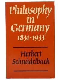Philosophy in Germany, 1831-1933