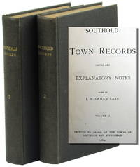Southold Town Records Copied and Explanatory Notes Added
