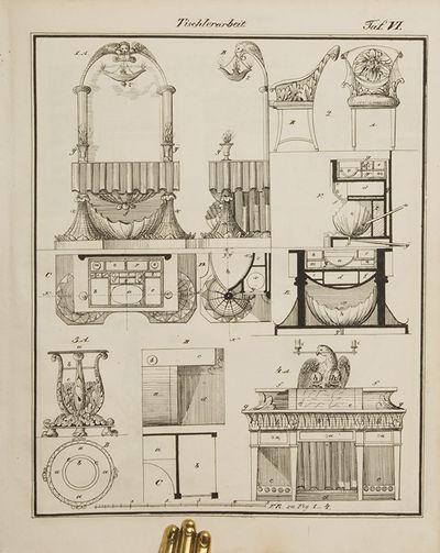 Ilmenau & Weimar : Bernard Friedrich Voight, 1831. Four fascicles - 1831, 1832, 1835, 1835 - in one ...