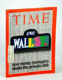 Time Magazine (Canadian Edition), August (Aug.) 24, 1970 - New Money Managers Shake Wall St.