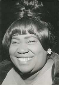 image of Original photograph of Marion Williams, circa 1980s