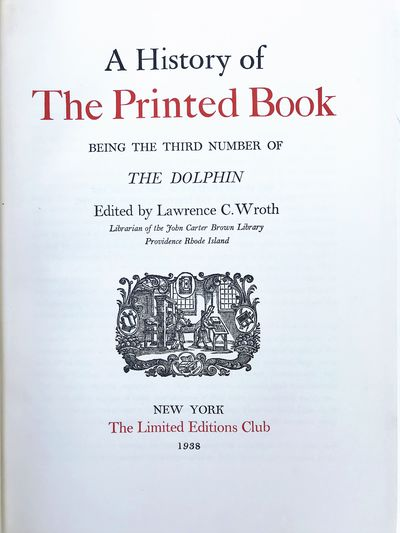 New York:: Limited Editions Club, 1938., 1938. 4to. xv, , 507, pp. + ads. Illustrations, title print...