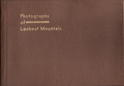 Lookout Mountain, Tenn: G. T. Linn, n.d.. Hardcover. Good. Oblong octavo photograph album. Contents ...